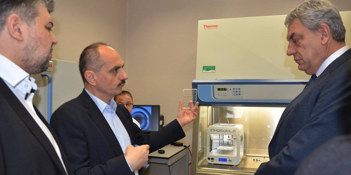 The Prime Minister of Romania, Mr. Mihai Tudose visits OncoGen
